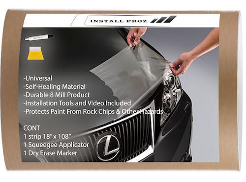 "Clear Paint Protection Bra Film Car Vinyl Wrap Invisible Scratch 60/"" x 120/"" Inch"
